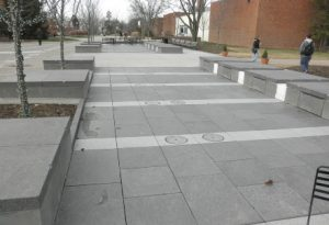 Granite benches and pavers, Ohio