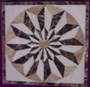 Mini Collection-#022, 18in and 24in, Stone names-Crema Marfil, Emperador Dark & Emperador Light