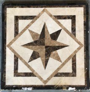 Mini Collection-#250, 4in, 18in and 24in, Stone names-Crema Marfil, Emperador Dark & Emperador Light