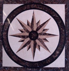 North Star 36in and 48in -Stone names-Crema Marfil, Emperador Dark, Emperador Light, Black Marquina