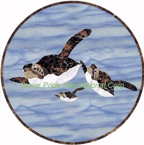 Turtle at the Sea, custom order only